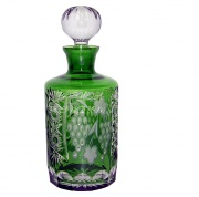Декантер  для виски Ajka Crystal Grape Emerald 700 мл cased crystal emerald/64567/51380/48359