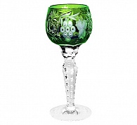 Рюмка для ликера 60 мл cased crystal Ajka Crystal Grape Emerald 1/emerald/64575/51380/48359