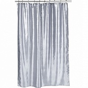 Шторка для ванной Carnation Home Fashions Shimmer Pewter FSC15-FS/65
